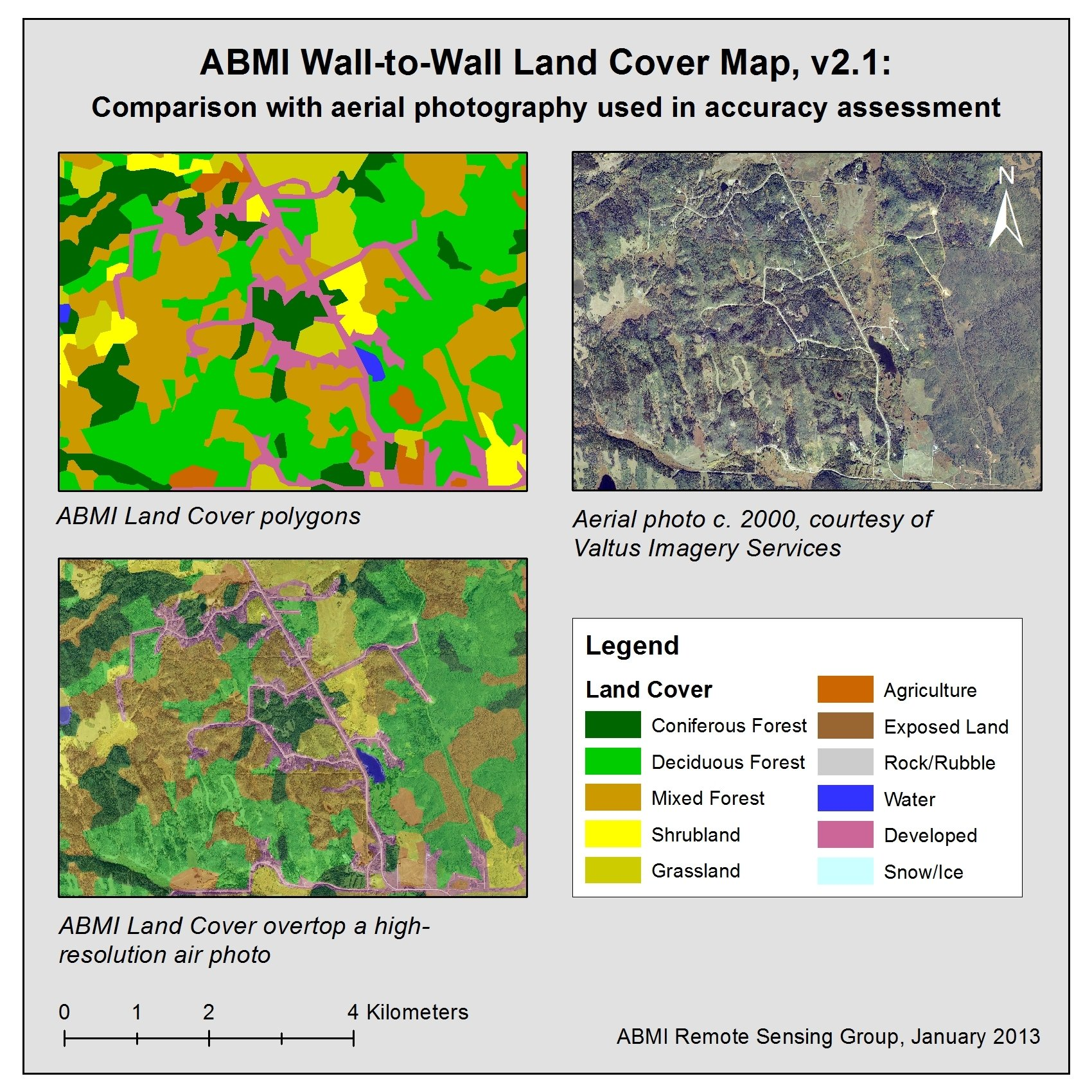 Figure showing ABMI Land Cover versus high-resolution photography.