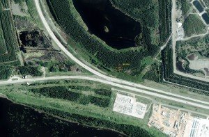 A site near Edmonton, before interpretation.