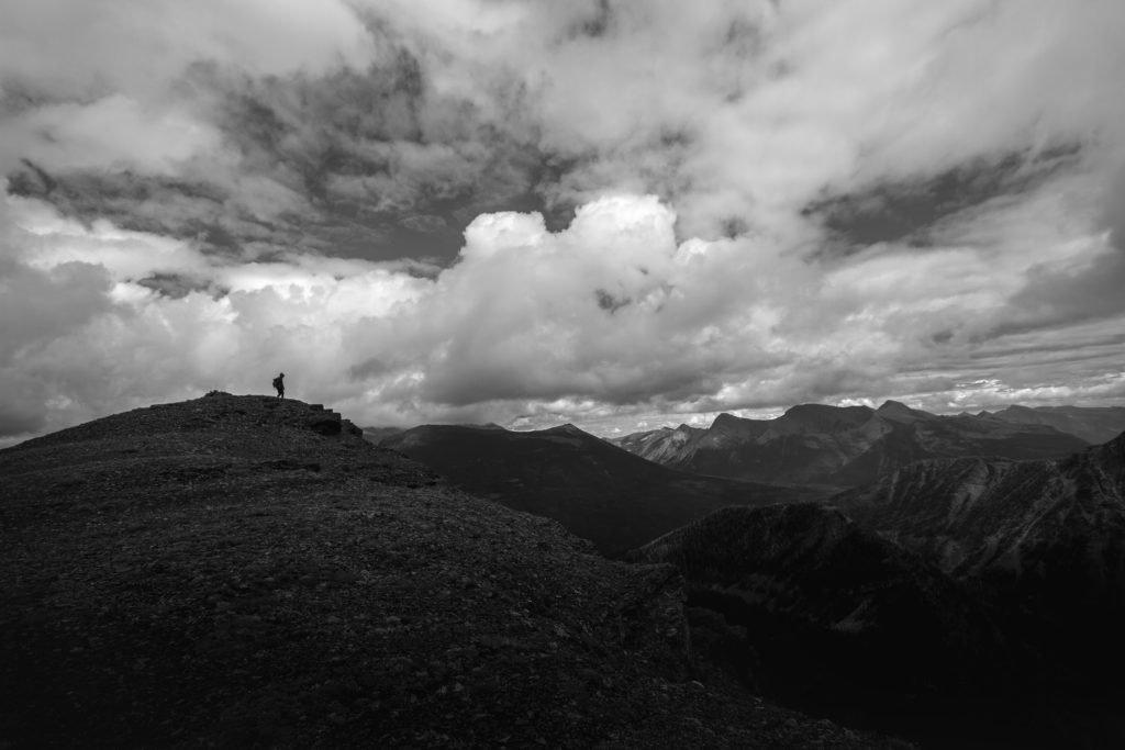 contemplation on the ridge