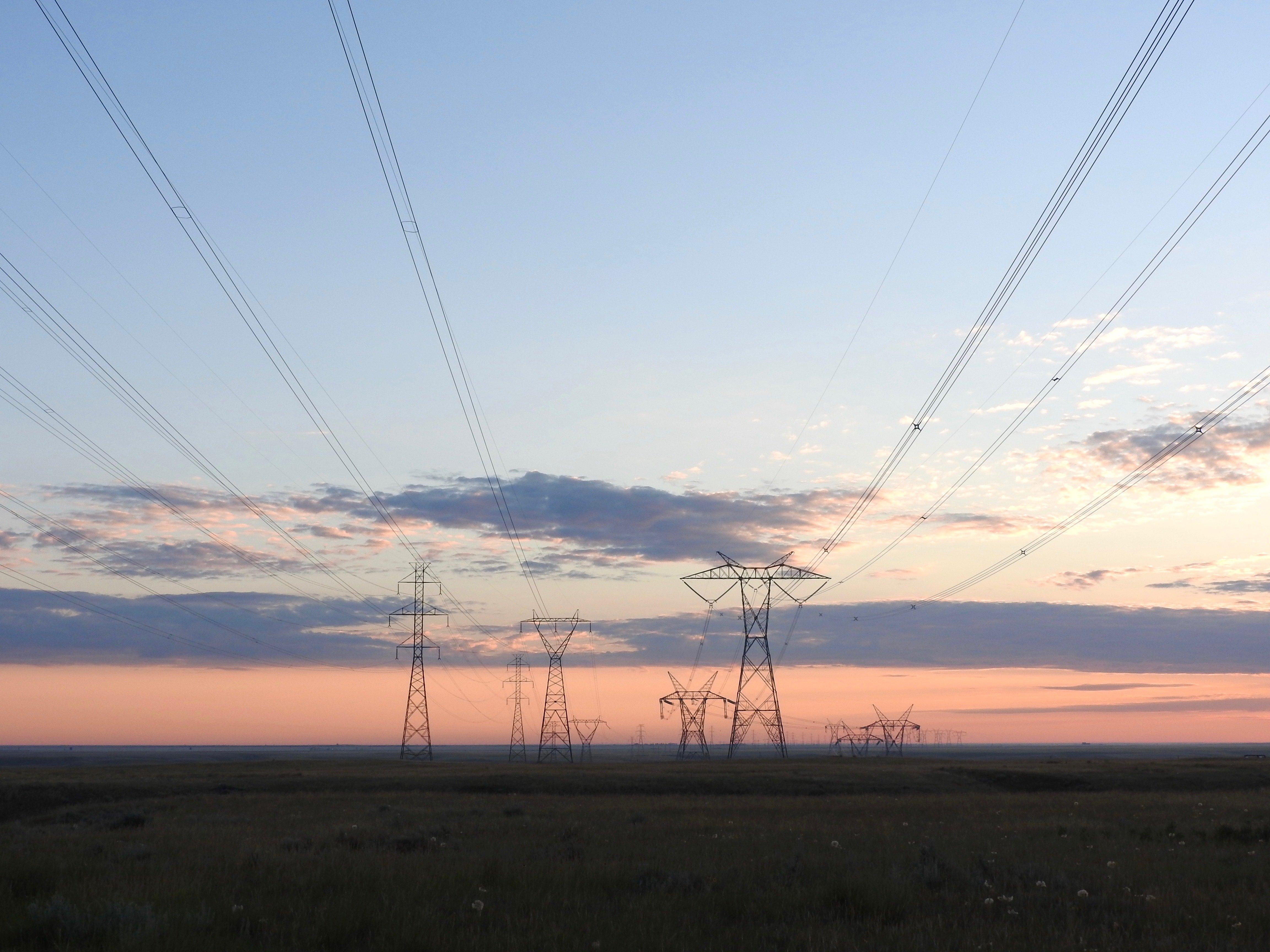 prairie power lines