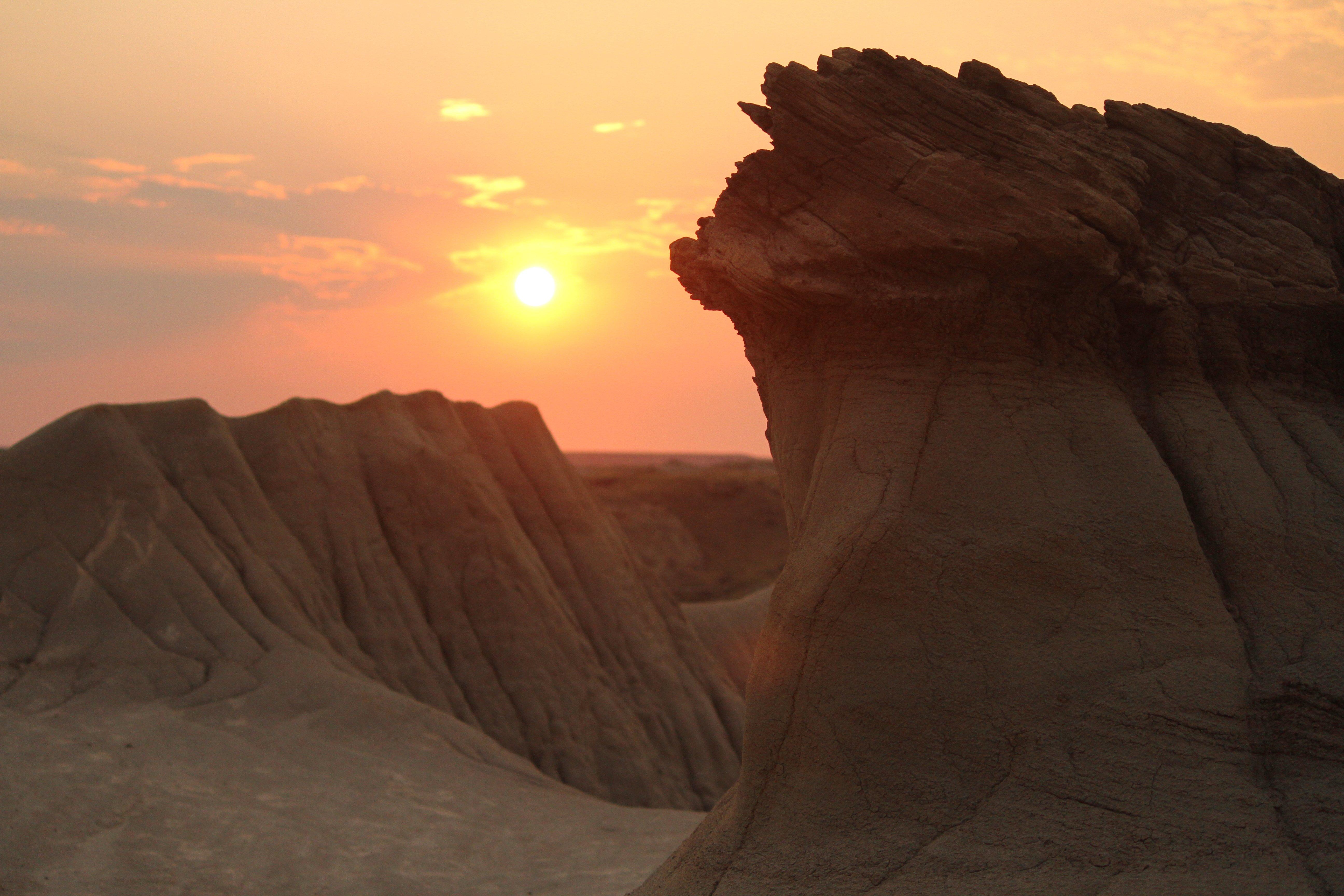 hoodoo sunrise