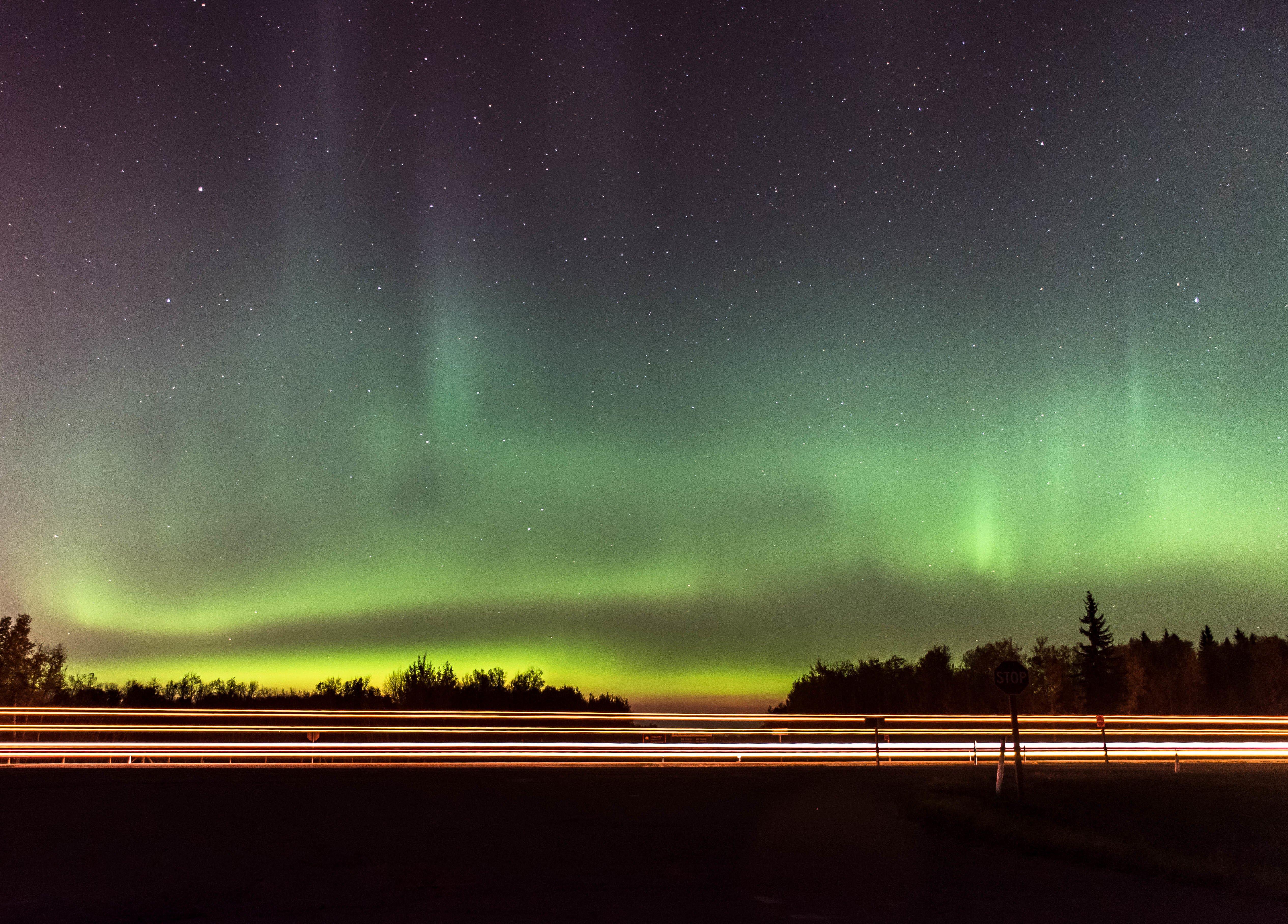 aurora by the highway